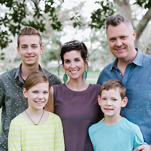 A family who has attend our Orthodontics Savannah GA practice